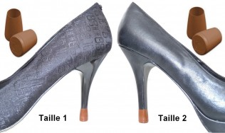 2 PAIRES-2 TAILLES-MARRON