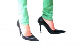 chaussures de soiree, protege talon couleur, talon de chaussure, talon usé, réparation talons