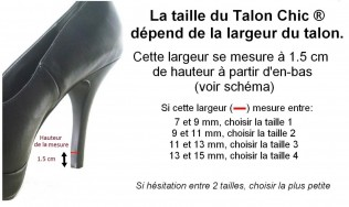 protege talon bijou - embout talon bijou - protection talon strass - décoration escarpins