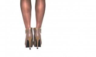 talon chic - protège talon mode - escarpins décorés - talons hauts originaux