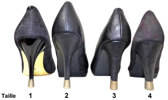stilettos - proteges talons - protection talons aiguilles - escarpins - réparer talons