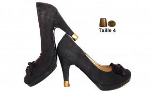 embout talon pas cher - protège talon - protection des talons - protection du talon - protection des talons de chaussures