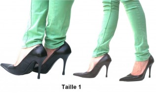 Embout talon - protège talon - protection talon - protection chaussures - protection talon chaussure - protection escarpins
