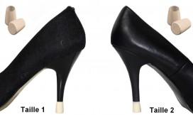 escarpin mariage - chaussures mariage - talon haut mariage - protege talon mariage - protection talons mariages