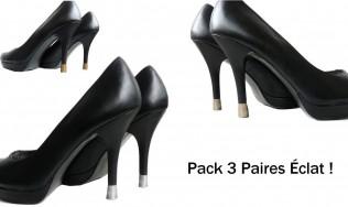 chaussures de soirée - achat en ligne protege talon - réparer talon - stiletto