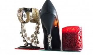 decoration escarpins - talon chic - talons aiguilles bijou - customiser chaussures - protèges talons escarpins
