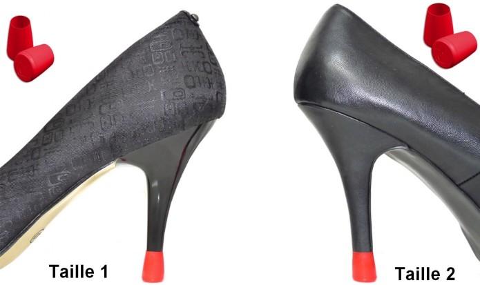 protege talon - talon cassé - changer talon - talons fins - talon coloré